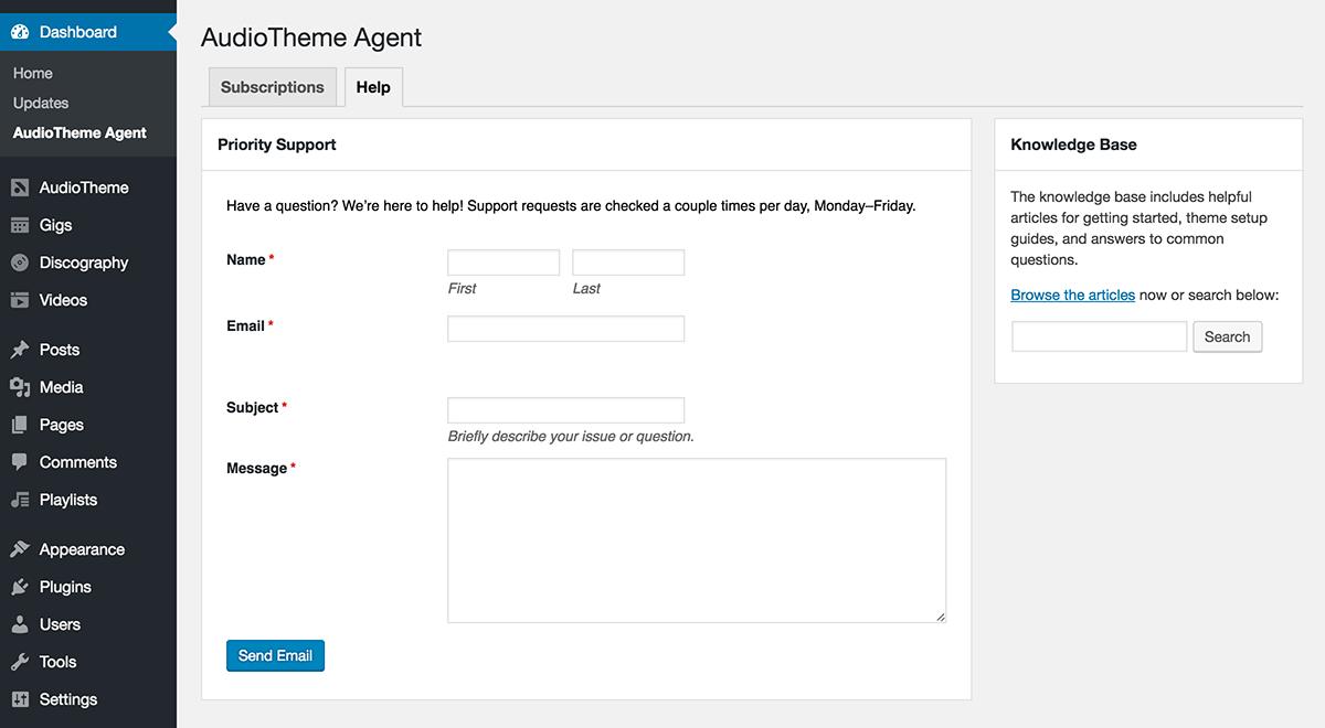 audiotheme-agent-help-tab