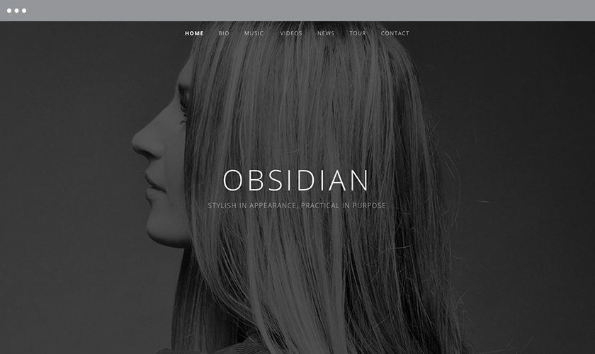 Obsidian — WordPress Music Themes by AudioTheme