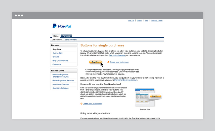 ecommerce-paypal-buttons
