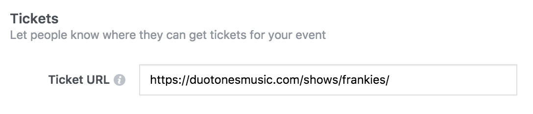 Using Facebook Events to Promote Your Band's Shows - Tickets