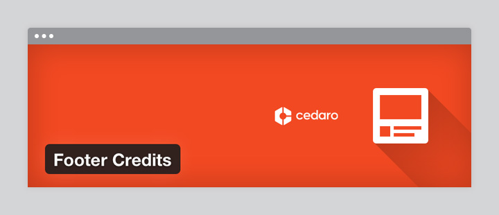 Footer Credits Plugin Banner