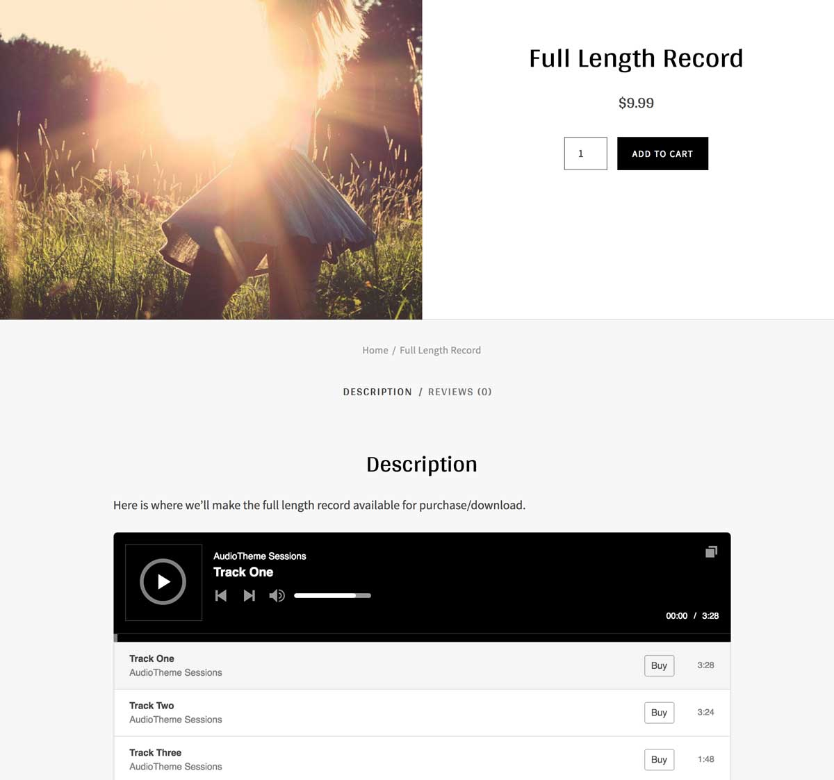 How to Sell Full Length Records and Individual Tracks on WooCommerce