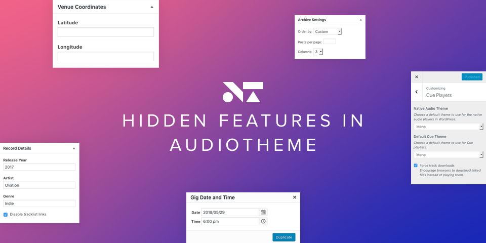 "Are You Taking Advantage of These ""Hidden"" Features in AudioTheme?"