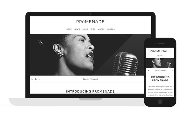Promenade — WordPress Music Themes by AudioTheme