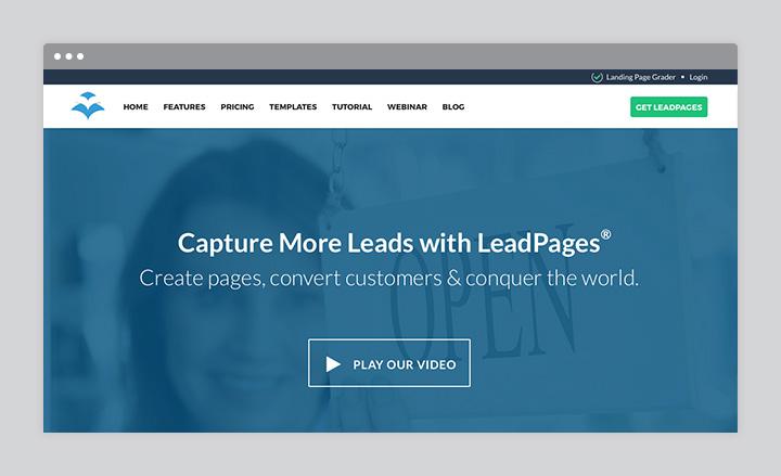 LeadPages Screenshot