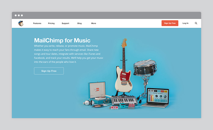 MailChimp for Music